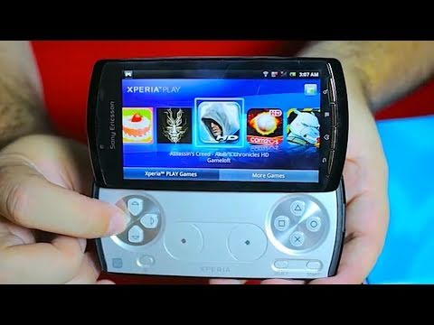 "Xperia Play Unboxing & pre- review of the Playstation Phone"" with Blunty3000"