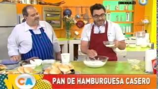 Pan de hamburguesa casero (Parte 1)