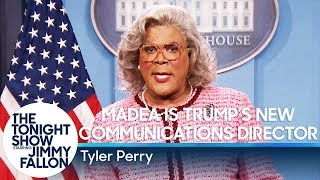 Madea Is Trump's New Communications Director width=