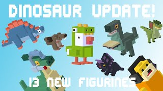 getlinkyoutube.com-CROSSY ROAD Update | 12 New & 1 Secret Characters | Dinosaur Update Gameplay - September 2016