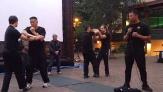 Sigung Taky Kimura  And The Jun Fan Gung Fu Institute Demonstrating Chi Sao