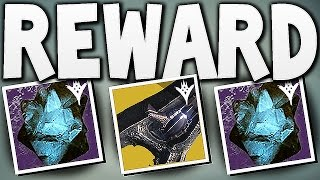getlinkyoutube.com-Destiny - 50 CALCIFIED FRAGMENTS REWARD ?