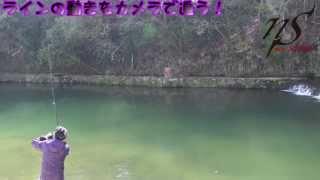 ラインの動き、バイトの瞬間を撮れ!!DVD『The 縦釣り 関西版』