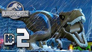 getlinkyoutube.com-LEGO REX!! Jurassic World LEGO Game - Ep2