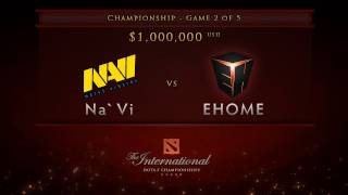 getlinkyoutube.com-EHOME vs NaVi - Game 2, Championship Finals - Dota 2 International -  English Commentary