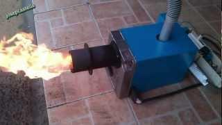 getlinkyoutube.com-CONVERSION DE UN QUEMADOR DE GASOIL A BIOMASA (VIDEO -2)