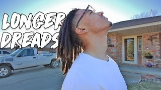 getlinkyoutube.com-Dreads Getting Longer