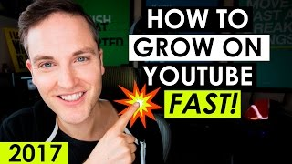 getlinkyoutube.com-How to Grow Your YouTube Channel Fast 2017 — 5 YouTube Tips