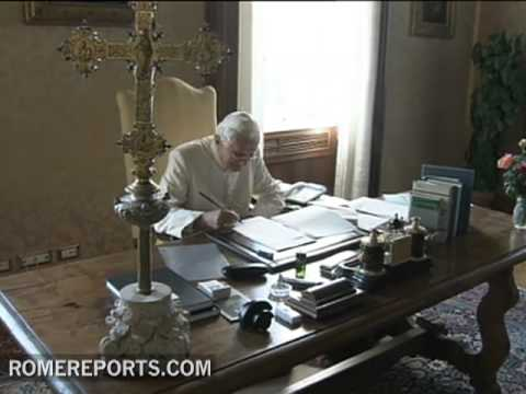 The Pope's book will be published on March 13