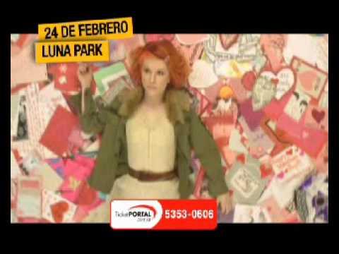 Spot Paramore en Argentina