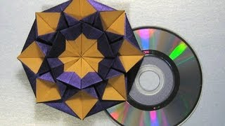 "getlinkyoutube.com-Origami Instructions: CD/DVD Case ""Star Helena"" by Carmen Sprung"