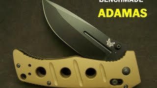 getlinkyoutube.com-Benchmade Adamas Ranger Knife  275