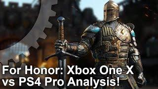 FOR HONOR - Xbox One X vs PS4 Pro vs PC Grafikai Összehasonlítás