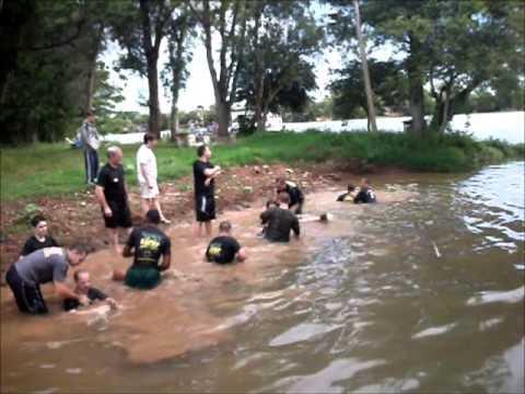Kapap Brasil Entrenamiento en el agua