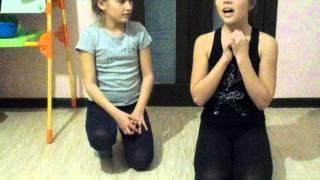Vlog:как быстро сесть на шпагат и как мы садимся