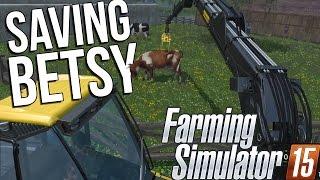 getlinkyoutube.com-Farming Simulator 15 (2015) - Professional Logging and Cow Moving! - Farming Sim Gameplay Highlights