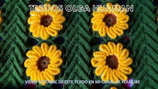 getlinkyoutube.com-tejido en crochet : video 2 , como tejer la flor