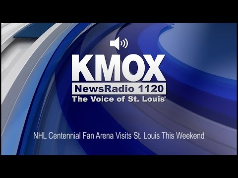 NHL Centennial Fan Arena Visits St. Louis This Weekend (Audio)