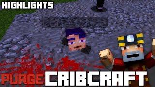 getlinkyoutube.com-CAN WE KILL KYLE?? The Purge of The Cribcraft World!