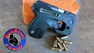 getlinkyoutube.com-Shooting the Taurus Curve 380 ACP Semi-Automatic Pocket Pistol - Gunblast.com