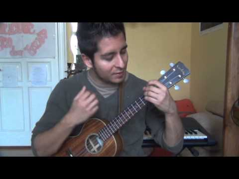 Sailing Ukulele Tutorial (German) Picking und Strumming