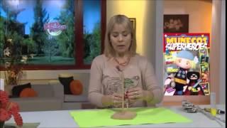 getlinkyoutube.com-Portarrollos de cocina con flor en cestería -  Silvina Buquete
