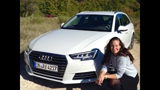 getlinkyoutube.com-New 2016 Audi A4 AVANT Test Drive
