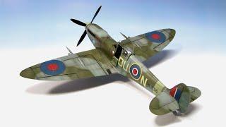 getlinkyoutube.com-Supermarine Spitfire Mk.IXc Eduard 1/48 Step by Step - Part 2