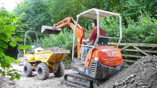 getlinkyoutube.com-Diggers and dumper: day 5 and ooops
