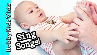 HobbyGator Sing Along Nursery Rhymes! Patty Cake, Twinkle Little Star HobbyKidsVids