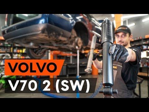 Как да сменим задни амортисьори на VOLVO V70 2 (SW) (ИНСТРУКЦИЯ AUTODOC)