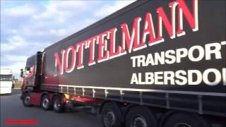getlinkyoutube.com-Scania R04 V8 Marten Nottelmann Transporte