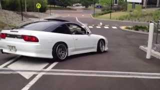getlinkyoutube.com-Nissan 180sx Silvia S13 Vertex JDM