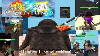 "getlinkyoutube.com-ROBLOX - Arcane Adventures (2nd Series) - (S1) - Ep. 2 ""Battle for Flashgen! We meet again, Theos!"""