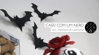 getlinkyoutube.com-Faça você mesmo - Morcego de cartolina