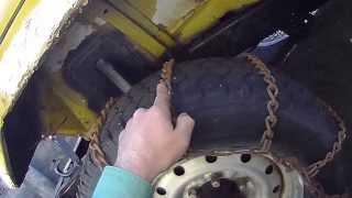 getlinkyoutube.com-【大型車 タイヤチェーン 巻き方のコツ】 東京生まれ東北在住元大型トレーラー運転手がお伝えします トラック