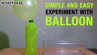 getlinkyoutube.com-Simple and Easy Science Experiment With Balloon | DIY | Science Projects | Crazy Ideas