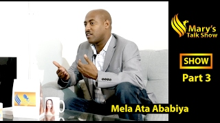 New Eritrean Talk show - Interview with Tesfom 2017