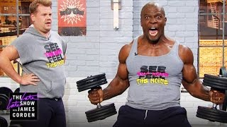 getlinkyoutube.com-Lifting and Grunting w/ Terry Crews