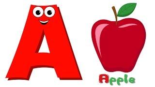 getlinkyoutube.com-Phonics Letter A | ABC Song | Alphabet A