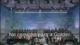 getlinkyoutube.com-Elton John & Luciano Pavarotti Live like horses Traducão em portugues