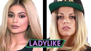 getlinkyoutube.com-Women Try Kylie Jenner's Beauty Routine • Ladylike