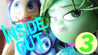"getlinkyoutube.com-Disney Pixar Inside Out Disgust 9 1/2"" Deluxe Talking Doll Review"