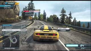 getlinkyoutube.com-Need For Speed Most Wanted (2012) [Xbox 360]: McLaren F1 LM Gameplay