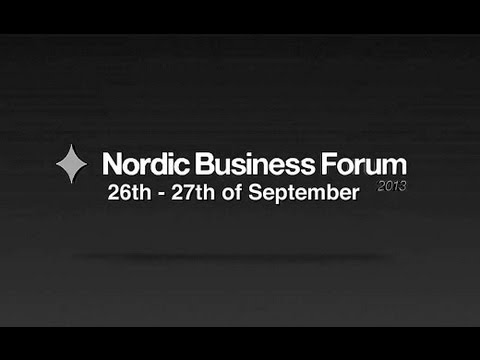 Nordic Business Forum 2013