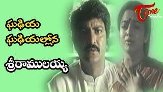 Sri Ramulayya Songs - Ghadiya - Mohan Babu - Soundarya width=