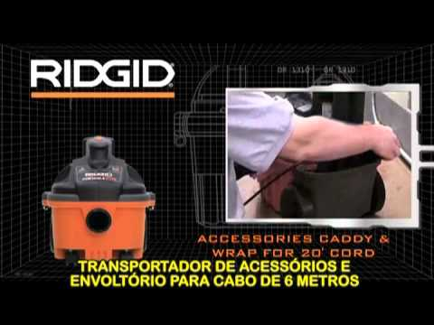 RIDGID -- Aspiradores Profissionais modelo WD-4070