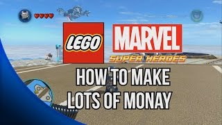 getlinkyoutube.com-How to Make lots of Money (Easy Billionaire Philanthropist) - LEGO Marvel Super Heroes