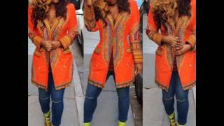getlinkyoutube.com-Dashiki Dress Outfit - Latest Dashiki Ankara Styles For Ladies (2017 & 2018)