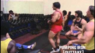 getlinkyoutube.com-Pumping Iron - Funny Arnold Outtakes